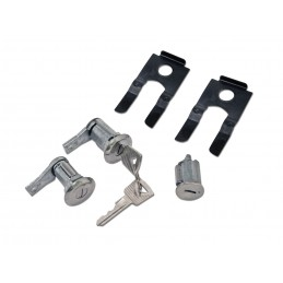 Zestaw wkładek z kluczykami - stacyjka / drzwi 65-66