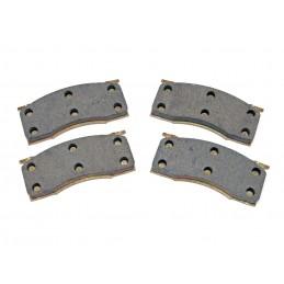 Bremsbelagsatz Scheibenbremse - Vorne Semi Metallisch 65-67 (Scheibe)