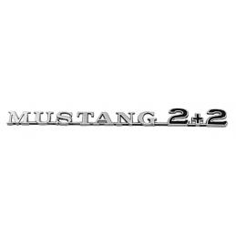 Mustang 2+2 Emblemat...