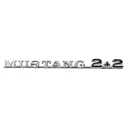 Mustang 2 + 2 Fender Emblem...