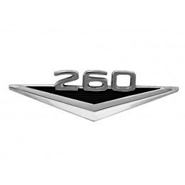 260 V8 Emblemat błotnika 64