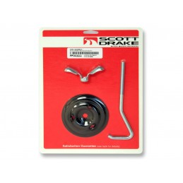Spare tire mounting kit 65-67