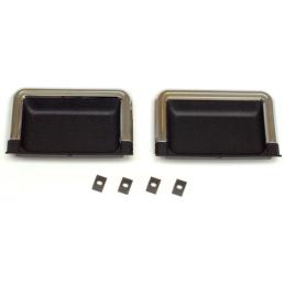 Door Panel Cup Set black 69-70