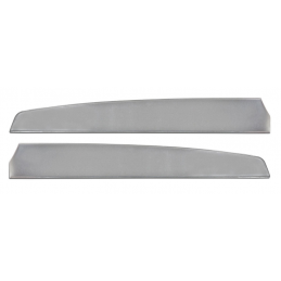Deluxe Türverkleidungseinsätze - Gebürstetes Aluminium 67
