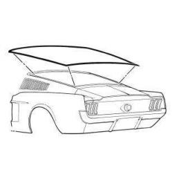 Fastback Rear Window Seal...