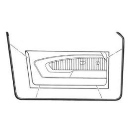 Uszczelki gumowe drzwi (para) 69-70