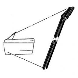 Fensterkanalglas läuft 67-68