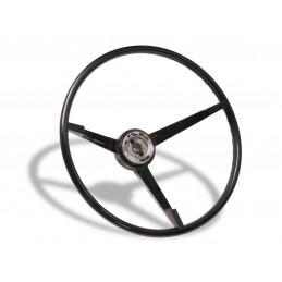 Black standard steering...