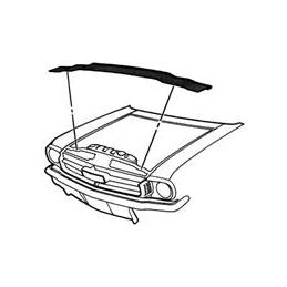 Radiator Support to Hood...