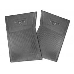 Pony floor mats (black) 64-73