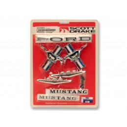 Zestaw emblematów V8 65-66