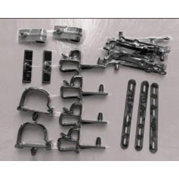 Wire Loom Mounting Kit 68
