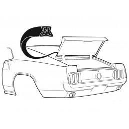 Fastback trunk seal 69-70