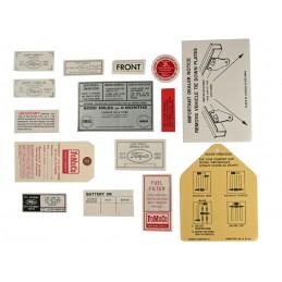 15 piece decal kit 64