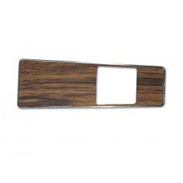 Console insert, woodgrain 69