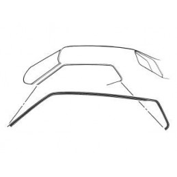 Roof rail seal, Coupe 69-70