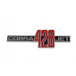 428 COBRA JET fender emblem...