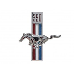Emblemat błotnika 390, lewy...