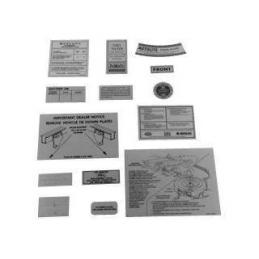 14 piece Decal Kit 67