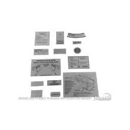 14 piece Decal Kit 69