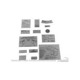 14-teiliges Abziehbild-Kit 69