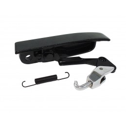 Convertible latch assembly,...
