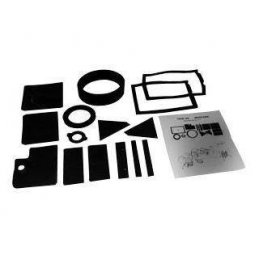 Heater Seal Kit with A/C 67-68