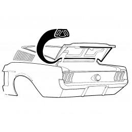 Fastback trunk seal 67-68