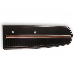 Deluxe door panel, black 68
