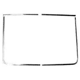 Rear window molding 69-70