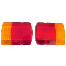 Tail light lens, pair 65-66