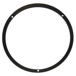 Ramka reflektora, czarna 67-68
