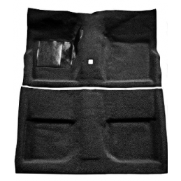 Carpet black, Fastback 65-68