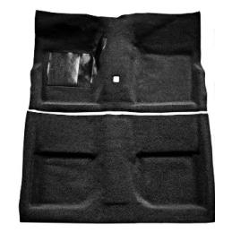 Teppich schwarz, Fastback...