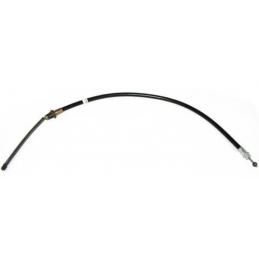 Rear emergency brake cable...