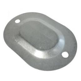 Floor pan metal plug 64-73