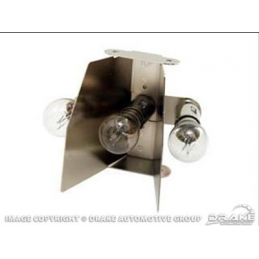 Taillamp 3-bulb inserts 65-66