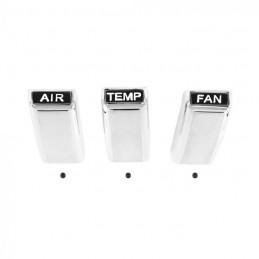 Heater control knob set AC 68