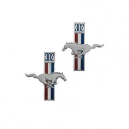 Emblem Kotflügel (302) 67-68
