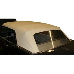 Dach cabrio z szybą (biały,...