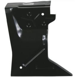 Rear fender apron, RH 69-70