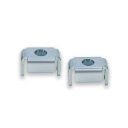 Heater plate retainers 64-66