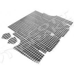 Trunk mat plaid...