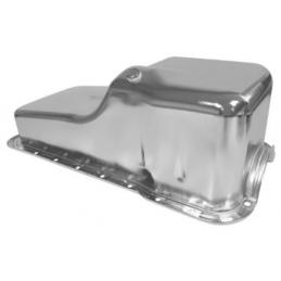Chrome oil pan 289/302, 64-73