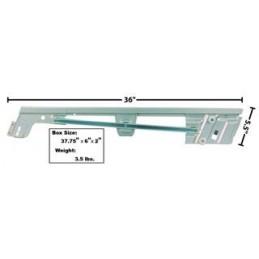 Right window rail 67-68