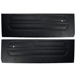 Standard door panel, black 69