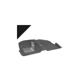 Coupe carpet, black 69-70
