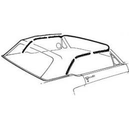 Cabrio dichtungen für...