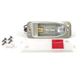 Deluxe door lamp assembly...