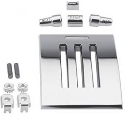Heater plate & knob kit 64-66